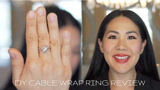DAVID YURMAN CABLE WRAP RING REVIEW (PRASIOLITE)