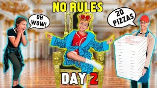 HOME ALONE WITHOUT MY PARENTS! *DAY 2*   The Royalty Family