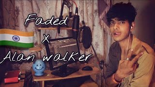 When a BEGINNER cover Alan walker faded ( Indian | male Version )