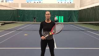 Tuesday Tennis Tips: Poaching Exercise