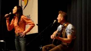"Joey & Rory ""Lord help my man if he's running around"" AWESOME"