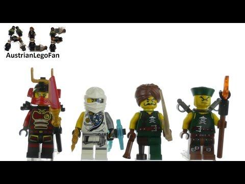 Vidéo LEGO Ninjago 853544 : Ensemble d'accessoires LEGO NINJAGO
