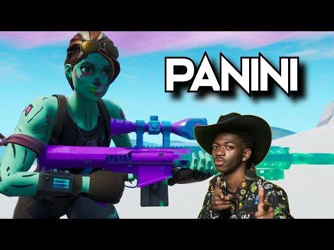 "Fortnite Montage - ""PANINI"" (Lil Nas X)"