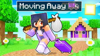 Aphmau Is MOVING AWAY In Minecraft!