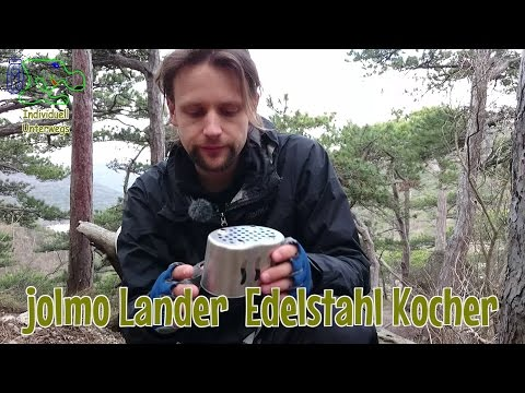 jolmo Lander Edelstahl Kocher