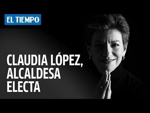 Última hora: Claudia Lopez gana las elecciones en Bogota
