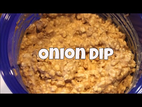 Delicious Onion Dip With Linda's Pantry