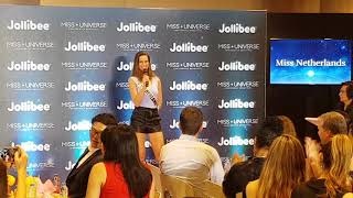 Miss Universe 2017 Demi-Leigh Nel-Peters wants to try Jollibee's Famous Peach-Mango Pie