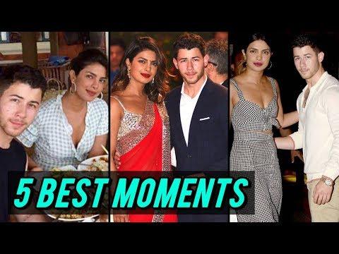 Download Priyanka Chopra - Nick Jonas Top 5 Best Appearances In Mumbai, India HD Mp4 3GP Video and MP3