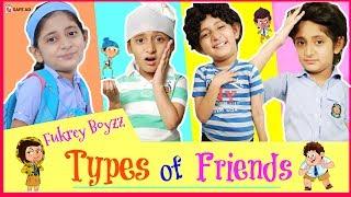 Types of FRIENDS in SCHOOL | #FukreyBoyzzz #SchoolLife #Fun #Sketch #MyMissAnand