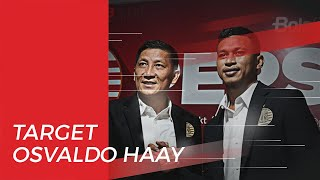 Target Osvaldo Haay sebagai Pemain Sayap Persija Jakarta