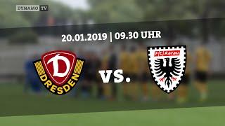 Testspiel: SG Dynamo Dresden gegen FC Aarau