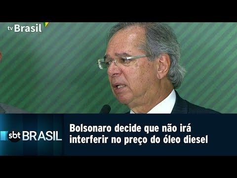Bolsonaro decide que não irá interferir no preço do óleo diesel