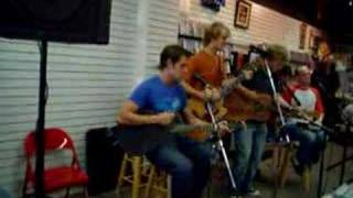 Zack and Nick Hexum(of 311) 'How Many Times' live in store