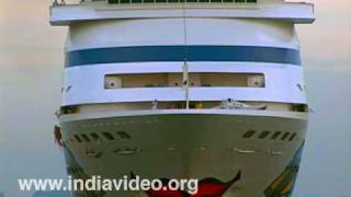 Aida Cara German Cruise Ship at Kochi