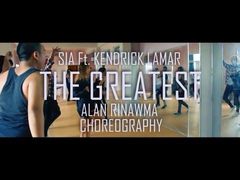 The Greatest || Alan Rinawma Choreography @ Mizo Dance Camp