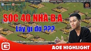 Aoe Highlight | Siêu phẩm: Sóc 40 nhà BA của Chim Sẻ khi đánh Shang.