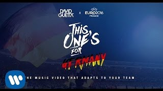 David Guetta ft. Zara Larsson - This One's For You Germany (UEFA EURO 2016™ Official Song)