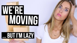 The Lazy Girl's Guide to MOVING HACKS || ... I'M MOVING!!! by Rachhloves