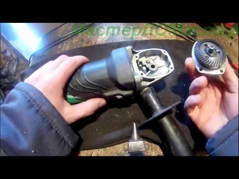 Ремонт УШМ Hitachi 125 мм!