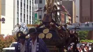 平成27年  神田祭 江戸神社「神田市場」本社千貫神輿渡御。