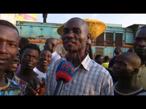 Bbaasi etomedde eggaali y'omukka mu Kampala