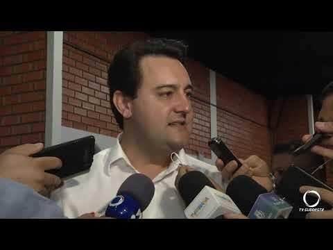 Governador anuncia liberação de recursos para construção de um condomínio para idosos em Pato Branco