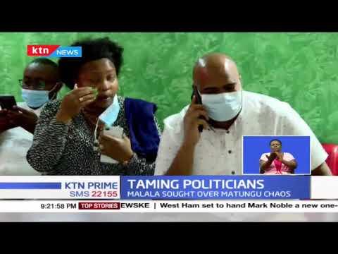 Taming politics: Echesa to spend another night in custody