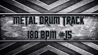 Heavy/Thrash Metal Drum Track 180 BPM (HQ,HD)