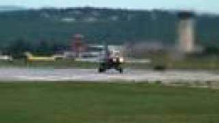 F/A-18 Hornet Afterburner Takeoff, Climb
