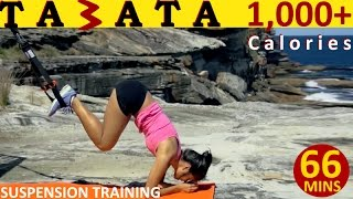 Suspension Training | Tabata 1000+ calories | Full Body by Coach Ali