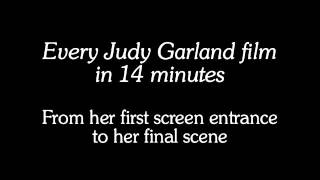 Every Judy garland film in 14 minutes
