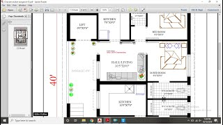 30X40 Apartment Plan [Second Floor Plan]