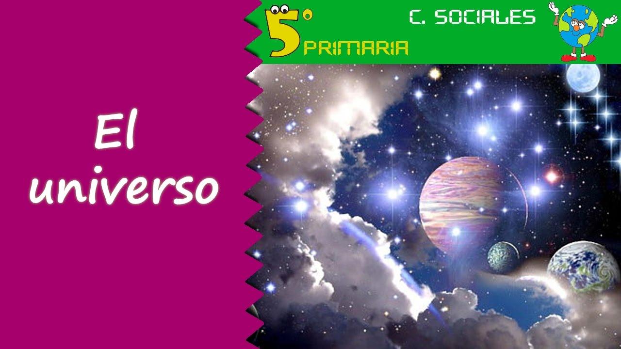 El universo. Sociales, 5º Primaria. Tema 1