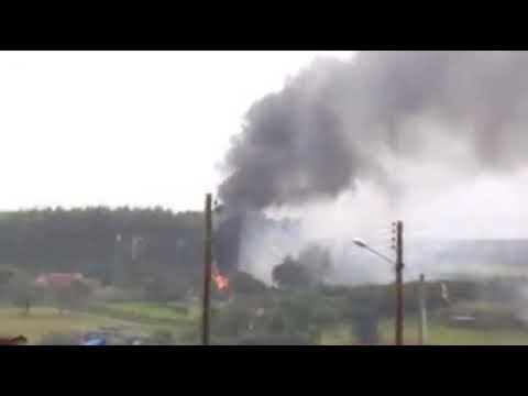 Incêndio na casa de fogos em Avaré!!!