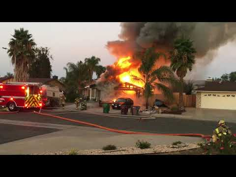 My neighor house caught on fire!!!