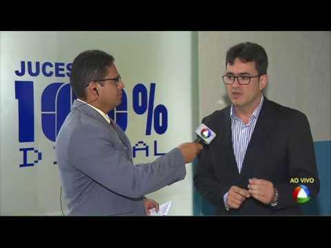 Jucese lança portal que facilita registro de empresa – reportagem da TV Atalaia