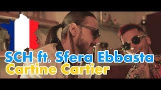 GERMAN REACT TO FRENCH RAP: SCH   Cartine Cartier Ft. Sfera Ebbasta | German Reacts | Cut Version