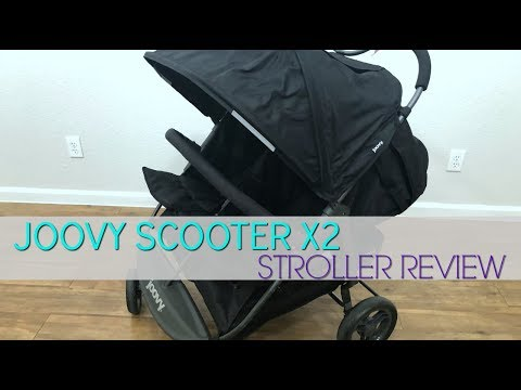 Joovy Scooter X2 Review! | Double Stroller Review