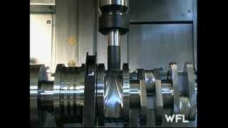 WFL M60 MillTurn Complete Crankshaft Machining – MARTECH Machinery, NJ – USA