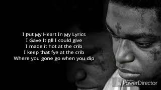 "Kodak Black - Calling My Spirits (Lyrics)  ""Dying To Live"""