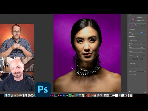 Select & Mask - Photoshop Composite Tutorial