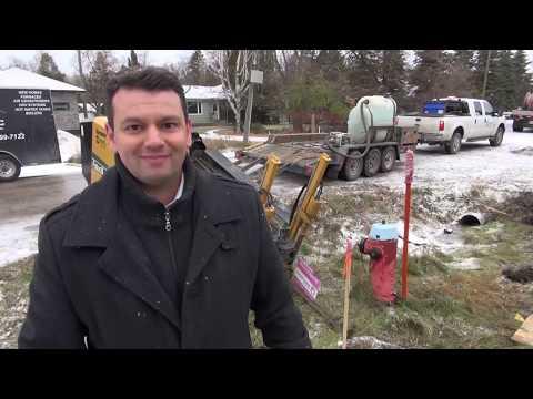 בניית בית חדש בויניפג - הכנת תשתיות חשמל וגז