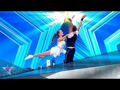 Estos CUBANOS traen RIESGO y PASIÓN en sus PATINES | Audiciones 5 | Got Talent España 5 (2019)