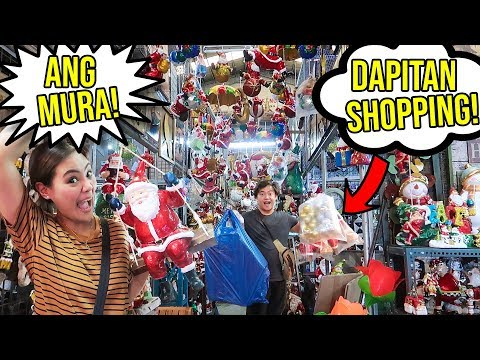 dapitan shopping videos