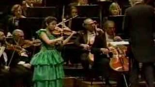 Sarah Chang Mendelssohn Violin Concerto in E minor 3rd Mvnt