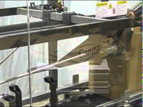 Selladora de caja en la parte superior con pegante caliente & cinta
