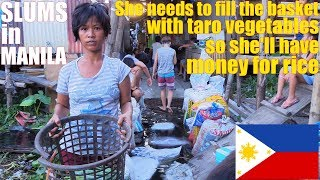Lets Travel To MANILA Philippines And Meet Poor Filipinos. Meet This Poor Beautiful Filipina