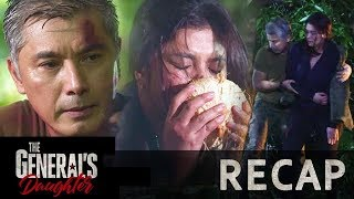 Marcial takes care of Rhian after escaping Tiago's henchmen | The General's Daughter Recap