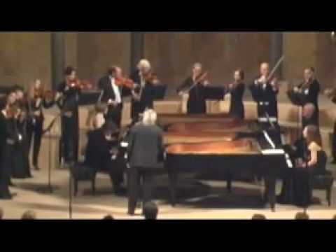 Concerto for 4 Keyboards by J.S. Bach